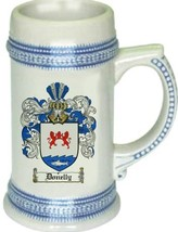 Donelly Coat of Arms Stein / Family Crest Tankard Mug - $21.99