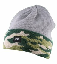 Dope Couture Grey Camo Beanie