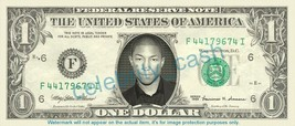 Pharrell Williams On Real Dollar Bill Cash Money Bank Note Currency Diner On Rea - $4.44