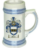 Faber Coat of Arms Stein / Family Crest Tankard Mug - $21.99