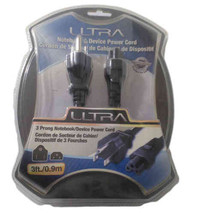 Ultra 3 Prong Notebook/Device Power Cord - $5.99
