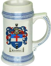 Forestieri Coat of Arms Stein / Family Crest Tankard Mug - $21.99