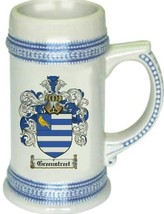 Greenstreet Coat of Arms Stein / Family Crest Tankard Mug - $21.99