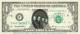 BREAKING BENJAMIN Music Band on REAL Dollar Bill Cash Money Bank Note Cu... - $4.44