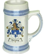 Hornung Coat of Arms Stein / Family Crest Tankard Mug - $21.99