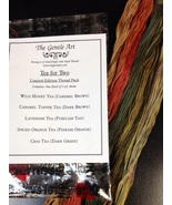 Tea For Two Limited Edition Colors floss pack 5 skeins The Gentle Art  - $9.55