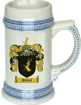 Hymel Coat of Arms Stein / Family Crest Tankard Mug - $21.99