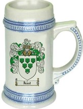 Izzat Coat of Arms Stein / Family Crest Tankard Mug - $21.99