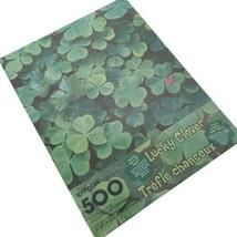 "Springbok Lucky Clover Jigsaw Puzzle 500 Pieces 20"" x 20"" Sealed - $19.79"