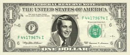 PERRY COMO on REAL Dollar Bill Cash Money Bank Note Currency Dinero Cele... - $4.44