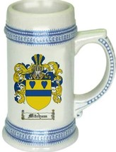 Mitchum Coat of Arms Stein / Family Crest Tankard Mug - $21.99