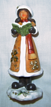 Christmas Carol Singing Girl Figuring - $9.99