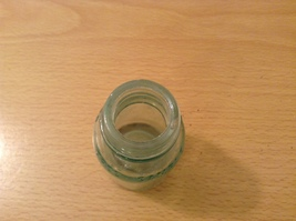 Vintage Mellin's Food Free Sample Clear Glass Bottle, Small image 4