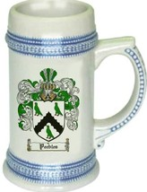 Peebles Coat of Arms Stein / Family Crest Tankard Mug - $21.99