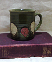 Vintage Retro Fun Stoneware Abstract Coffee Cup - $6.00