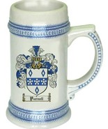 Purnell Coat of Arms Stein / Family Crest Tankard Mug - $21.99