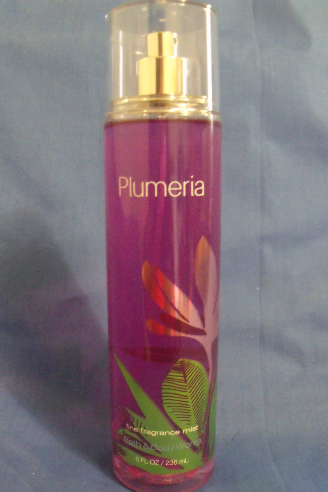 Bath and body works new plumeria fine fragrance mist 8 oz for Bath and body works scents best seller