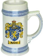 Rydquist Coat of Arms Stein / Family Crest Tankard Mug - $21.99