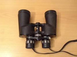 Vintage Selsi Japan Lightweight Binoculars Zoom 8x20x50 with Black Case