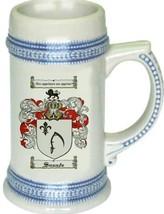 Sneade Coat of Arms Stein / Family Crest Tankard Mug - $21.99