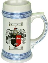 Stear Coat of Arms Stein / Family Crest Tankard Mug - $21.99