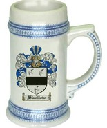 Swallow Coat of Arms Stein / Family Crest Tankard Mug - $21.99