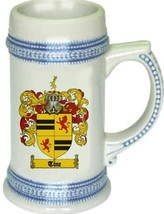 Tine Coat of Arms Stein / Family Crest Tankard Mug - $21.99