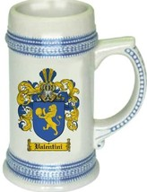 Valentini Coat of Arms Stein / Family Crest Tankard Mug - $21.99