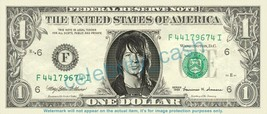 Richie Sambora Bon Jovi On Real Dollar Bill Cash Money Bank Note Currency Dinero - $4.44