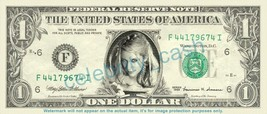 Ke$ha Kesha on REAL Dollar Bill Cash Money Bank Note Currency Dinero Cel... - $4.44