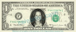 SARA EVANS singer on REAL Dollar Bill Cash Money Bank Note Currency Dinero - $4.44