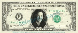 KENNY G on REAL Dollar Bill Cash Money Bank Note Currency Dinero Celebrity - $4.44