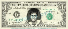 ENRIQUE IGLESIAS on REAL Dollar Bill Cash Money Bank Note Currency Dinero - $4.44