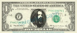 ROB ZOMBIE on REAL Dollar Bill Cash Money Bank Note Currency Dinero Cele... - $4.44