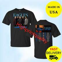 The Eagles Hotel California Tour 2020 Black T-Shirt Christmas Gift Size ... - $23.99+