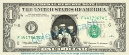 VILLAGE PEOPLE on REAL Dollar Bill Cash Money Bank Note Currency Dinero - $4.44