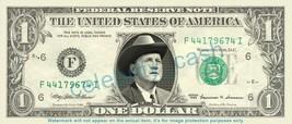 BILL MONROE on REAL Dollar Bill Cash Money Bank Note Currency Dinero Cel... - $4.44