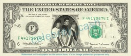 THE WHO on REAL Dollar Bill Cash Money Bank Note Currency Dinero Celebrity - $4.44