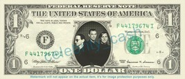 TED NUGENT on REAL Dollar Bill Cash Money Bank Note CurrenCopy of THE WH... - $4.44