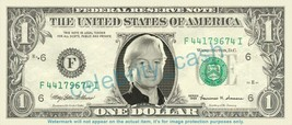 JUSTIN HAYWARD on REAL Dollar Bill Cash Money Bank Note Currency Dinero - $4.44