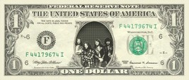 JETHRO TULL on REAL Dollar Bill Cash Money Bank Note Currency Dinero Cel... - $4.44