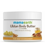 Mamaearth Ubtan Body Butter with Turmeric & Honey for Deep Nourishment, ... - $17.63