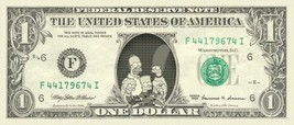 THE SIMPSONS on REAL Dollar Bill Cash Money Bank Note Currency Dinero Ce... - $4.44