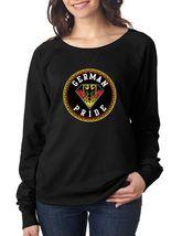 German Pride Women's Long Sleeve Shirt Country Pride Shirt - $27.00
