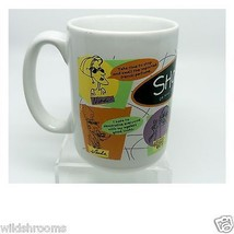 Vintage 80s Shoebox Greetings Hallmark White Ceramic Mug Cup Coffee Comi... - $19.79