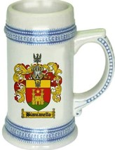Biancanello Coat of Arms Stein / Family Crest Tankard Mug - $21.99