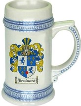 Broussard Coat of Arms Stein / Family Crest Tankard Mug - $21.99