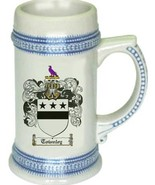 Townley Coat of Arms Stein / Family Crest Tankard Mug - $21.99