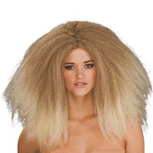 Wig - Fashion Runway - Adult Ladies Womens Long Frizzy Poofy Crazy Model... - $12.49