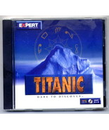 Vintage Titanic Dare To Discover PC Game Windows CD - $6.95